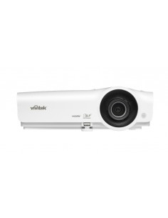 Vivitek DH268 datorprojektorer Portabel projektor 3500 ANSI-lumen DLP 1080p (1920x1080) 3D kompatibilitet Vit Vivitek DH268-EDU