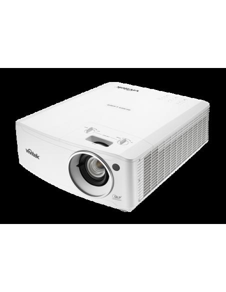 Vivitek DU4671Z data projector Desktop 5500 ANSI lumens DLP WUXGA (1920x1200) 3D White Vivitek DU4671Z-WH - 3