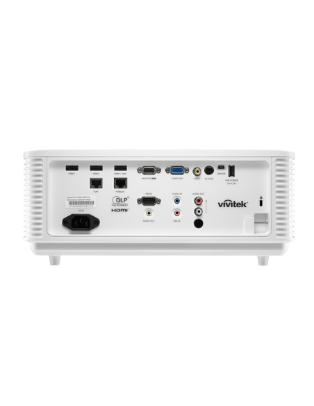 Vivitek DU4671Z data projector Desktop 5500 ANSI lumens DLP WUXGA (1920x1200) 3D White Vivitek DU4671Z-WH - 6