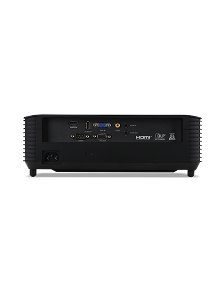 Acer Basic X128HP datorprojektorer Takmonterad projektor 4000 ANSI-lumen DLP XGA (1024x768) Svart Acer MR.JR811.00Y - 5
