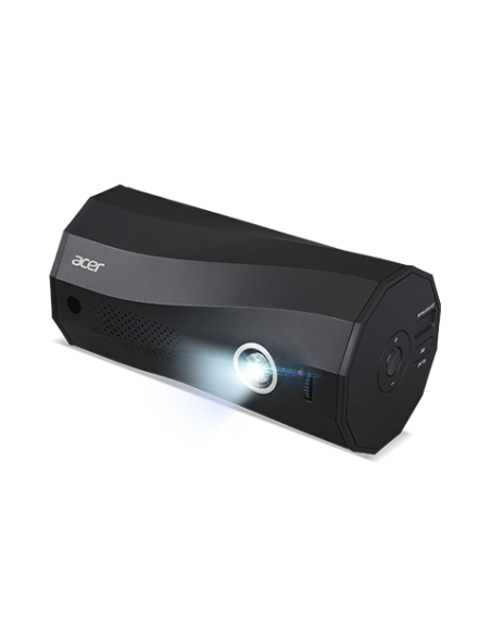 Acer C250i datorprojektorer Portabel projektor 300 ANSI-lumen DLP 1080p (1920x1080) Svart Acer MR.JRZ11.001 - 5