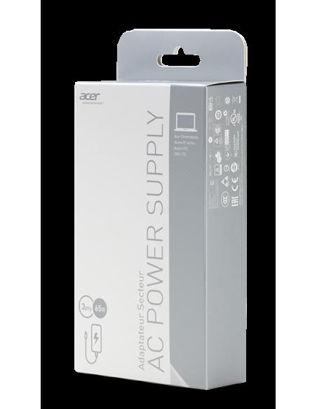 Acer NP.ADT0A.040 virta-adapteri ja vaihtosuuntaaja Sisätila 65 W Valkoinen Acer NP.ADT0A.040 - 4