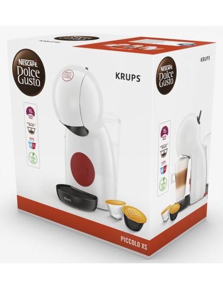 Krups Piccolo XS KP1A01 kaffemaskiner Halvautomatisk Kuddmatad kaffebryggare 0.8 l Krups KP1A01 - 8
