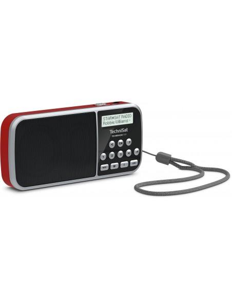 TechniSat 0000/3922 radioapparater Bärbar Digital Röd Technisat 0000/3922 - 2
