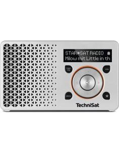 TechniSat DigitRadio 1 Kannettava Digitaalinen Oranssi, Hopea Technisat 0003/4997 - 1
