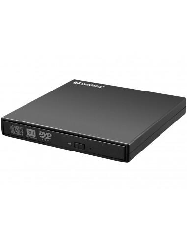 Sandberg USB Mini DVD Burner levyasemat Super Multi Musta Sandberg 133-66 - 1