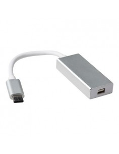ACT SB0021 cable gender changer USB type C Mini DisplayPort Valkoinen Suomen Addon 309653 - 1