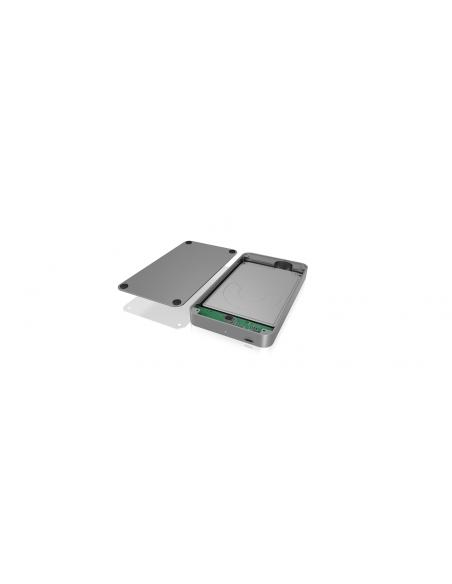 """ICY BOX IB-247-C31 Hölje för lagringsenheter HDD-hölje Antracit 2.5"""" Raidsonic 60426 - 5"""
