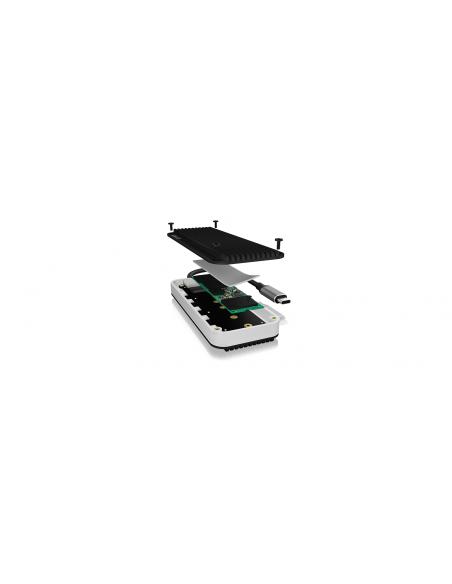 ICY BOX IB-1821ML-C31 storage drive enclosure SSD Anthracite, White Raidsonic 60697 - 3