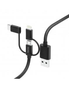 Hama 00183304 USB-kablar 1.5 m USB 2.0 A Micro-USB B Svart Hama 183304 - 1