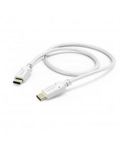 Hama 00183330 USB-kablar 1 m USB 2.0 C Vit Hama 183330 - 1
