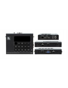 Kramer Electronics 860 AV-förlängare Svart Kramer 60-860090 - 1