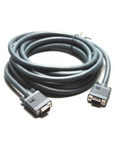 Kramer Electronics 15-pin HD VGA Cable VGA-kabel 0.3 m (D-Sub) Svart Kramer 92-7101001 - 1