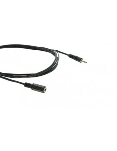 Kramer Electronics C-AS35M/AS35F-50 audio cable 15.2 m 3.5mm Black Kramer 95-0103050 - 1