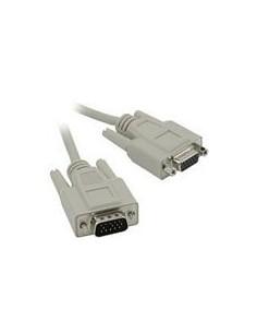 C2G 2m HD15 M/F SVGA Cable VGA-kaapeli VGA (D-Sub) Harmaa C2g 81167 - 1