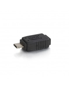 C2G 81689 cable gender changer Mini (B) F Micro M Black C2g 81689 - 1