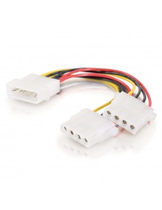 C2G 0.15m One 5.25in to Two Internal Power Y-Cable C2g 81849 - 1