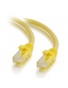 C2G 0.5m Cat5e Booted Unshielded (UTP) Network Patch Cable - Yellow C2g 83240 - 1