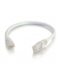 C2G CAT6 UTP 0.3m networking cable White U/UTP (UTP) C2g 83484 - 1
