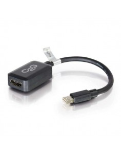 C2G 0.2m Mini DisplayPort M / HDMI F Musta C2g 84313 - 1