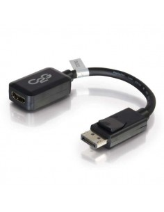 C2G 20cm DisplayPort M / HDMI F Musta C2g 84322 - 1