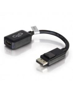C2G 20cm DisplayPort to HDMI Adapter - DP Male Female Black C2g 84322 - 1