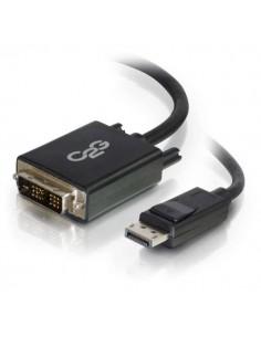 C2G 1m DisplayPort to Single Link DVI-D Adapter Cable M/M - DP DVI Black C2g 84328 - 1