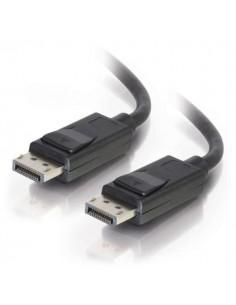 C2G 2m DisplayPort Cable with Latches 4K - 8K UHD M/M Black Musta C2g 84401 - 1