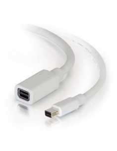 C2G 2.0m Mini DisplayPort M/F 2 m Vit C2g 84414 - 1