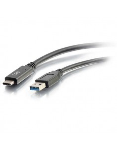 C2G 1.8m (6ft) USB C Cable - A 3.0 (3A) M/M Type Black C2g 88832 - 1