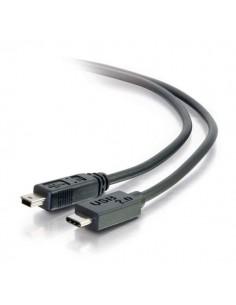 C2G USB 2.0, C - Mini B, 3m USB-kablar Mini-USB B Svart C2g 88856 - 1