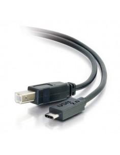 C2G 2m USB 2.0 Type C to B Cable M/M - Black C2g 88859 - 1