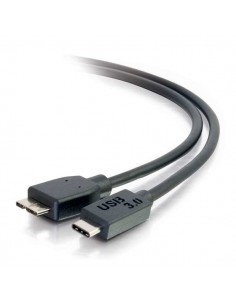 C2G 1m USB 3.1 Gen 1 Type C to Micro B Cable - Black C2g 88862 - 1