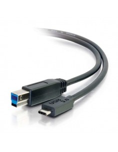 C2G USB 3.0, C - Standard B, 3m USB-kablar 3.2 Gen 1 (3.1 1) B Svart C2g 88867 - 1