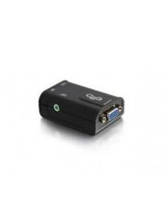 C2G 98102 virta-adapteri ja vaihtosuuntaaja Sisätila Musta C2g 98102 - 1