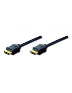 ASSMANN Electronic 2m HDMI AM/AM HDMI-kaapeli HDMI-tyyppi A (vakio) Musta Assmann AK-330107-020-S - 1