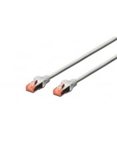 Digitus Professional verkkokaapeli 0.5 m Cat6 S/FTP (S-STP) Valkoinen Assmann DK-1644-005-10 - 1