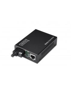 Digitus RJ45 / SC mediakonverterare för nätverk 100 Mbit/s 1550 nm Enkelläge Svart Assmann DN-82023 - 1