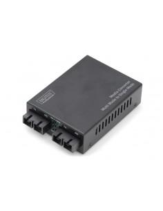 Digitus DN-82024 network media converter 100 Mbit/s 1310 nm Multi-mode, Single-mode Black Assmann DN-82024 - 1