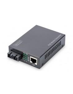 Digitus DN-82150 mediakonverterare för nätverk 1000 Mbit/s 850 nm Flerläge Svart Assmann DN-82150 - 1