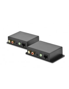 Digitus DS-56100 AV extender Network transmitter & receiver Black Assmann DS-56100 - 1