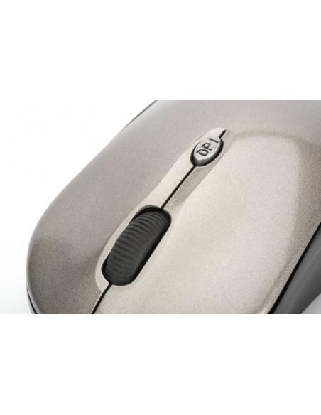 Ednet 81166 hiiri Molempikätinen Langaton RF Optinen 1600 DPI Ednet 81166 - 4