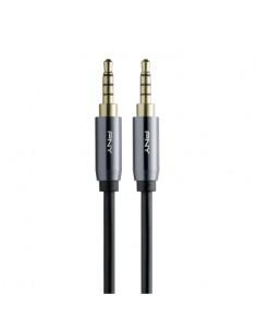 PNY C-AM-AM-C01-03 audio cable 1 m 3.5mm Black, Grey Pny C-AM-AM-C01-03 - 1