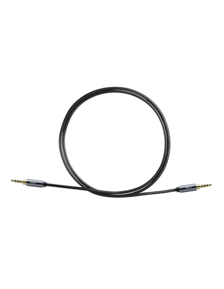 PNY C-AM-AM-C01-03 audiokaapeli 1 m 3.5mm Musta, Harmaa Pny C-AM-AM-C01-03 - 2