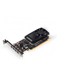 PNY VCQP1000DVIBLK-1 graphics card NVIDIA Quadro P1000 4 GB GDDR5 Pny VCQP1000DVIBLK-1 - 1