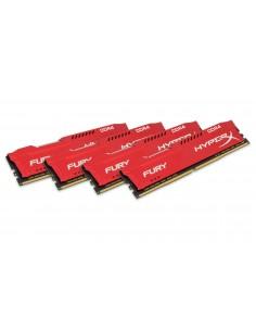 HyperX FURY Red 64GB DDR4 2933MHz Kit muistimoduuli 4 x 16 GB Kingston HX429C17FRK4/64 - 1