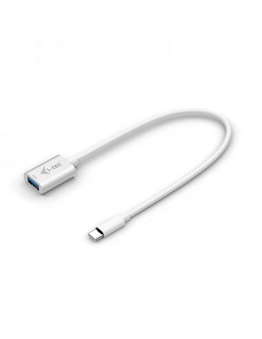 i-tec C31ADA USB-kaapeli 0.2 m USB 3.2 Gen 2 (3.1 2) C A Valkoinen I-tec Accessories C31ADA - 1