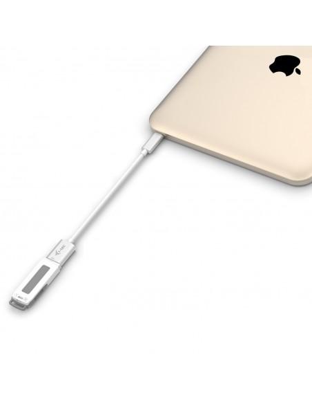i-tec C31ADA USB-kablar 0.2 m USB 3.2 Gen 2 (3.1 2) C A Vit I-tec Accessories C31ADA - 3
