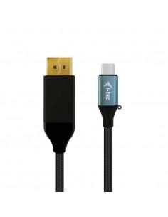 i-tec C31CBLDP60HZ2M videokabeladapter 2 m USB Type-C DisplayPort Svart I-tec Accessories C31CBLDP60HZ2M - 1