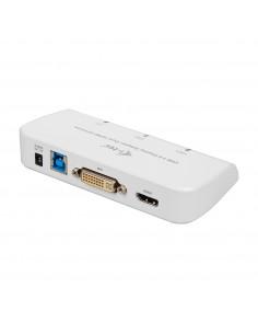 i-tec Advance U3DUALADA USB-grafikadapter 2048 x 1152 pixlar Vit I-tec Accessories U3DUALADA - 1